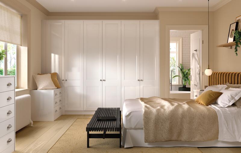 Bella Richmond White Gloss Bedroom