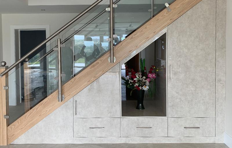 Bespoke under stairs storage
