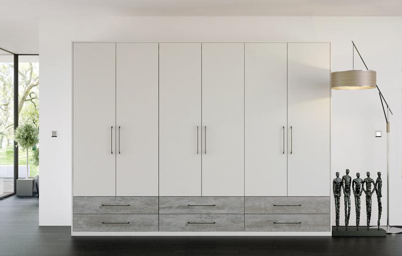Valore Driftwood Light Grey & Smooth Light Grey Bedroom
